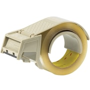 3M H 122 Carton Sealing Tape Dispenser, Each, Gray, 1 Each by