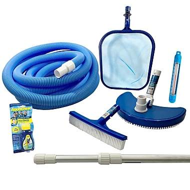 Blue Wave Standard Pool Maintenance Kit For Above-Ground Pools, Blue