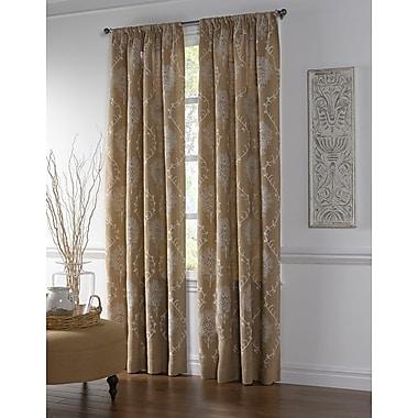 Cloud9 Design Amora Single Curtain Panel; 54'' W x 108'' L