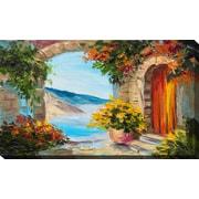 PicturePerfectInternational 'European Vista' Painting Print on Wrapped Canvas