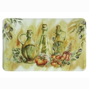 Bacova Guild Olive Oil Memory Foam Kitchen Mat; 1'11'' x 3'
