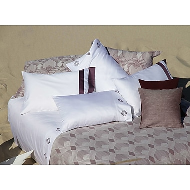 The St. Pierre Home Fashion Collection Goa 3 Piece Duvet Cover Set; Queen
