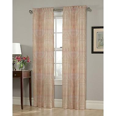 Homewear Linens Heather Curtain Panels; 54'' W x 63'' L