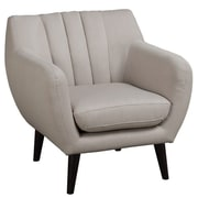 Infini Furnishings Samson Club Chair; Beige