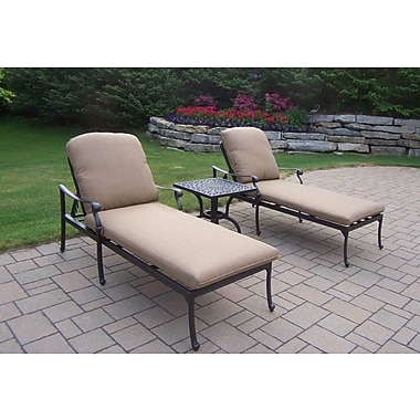 Darby Home Co Bosch 3 Piece Chaise Lounge Seating Group Set
