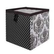 Bacati Classic Damask Storage Box; Small