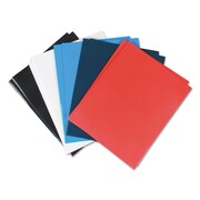 Universal® Laminated Two-Pocket Folder, 11 x 8 1/2, Assorted, Each (UNK)