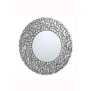 Elegant Lighting Modern Round Silver Crystal Mirror