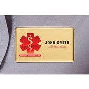 The Mighty Badge – Trousse de porte-noms pour imprimantes à jet d'encre, 1,5 po x 2,75 po, paq./10