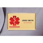 The Mighty Badge – Trousse de porte-noms pour imprimantes au laser, 1,5 po x 2,75 po, paq./10