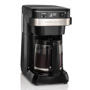 Hamilton Beach® 12 Cup Coffeemaker, Black/Stainless Steel
