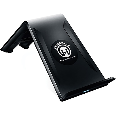 HyperGear® Qi Wireless Charging Stand, 13826, Black