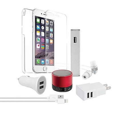 Naztech® Red Carpet Premium 8 Wireless Essentials Bundle Kit for Apple iPhone 6 Plus/6s Plus (13536)