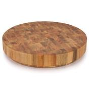 Origin Lyptus Solidwood End Grain Cutting Board; 3.15'' H x 17.75'' W x 17.75'' D