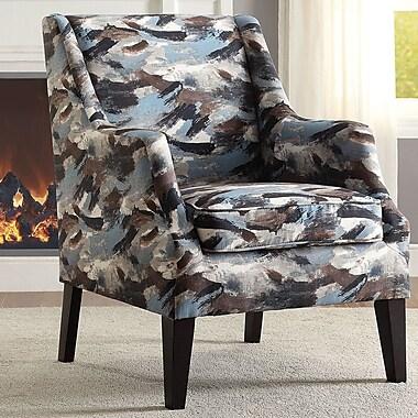 ACME Furniture Zarate Arm Chair; Blue