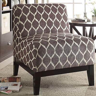 ACME Furniture Hinte Slipper Chair; Brown