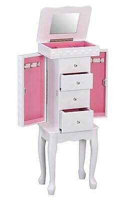 ACME Furniture Didi Jewelry Armoire w/ Mirror