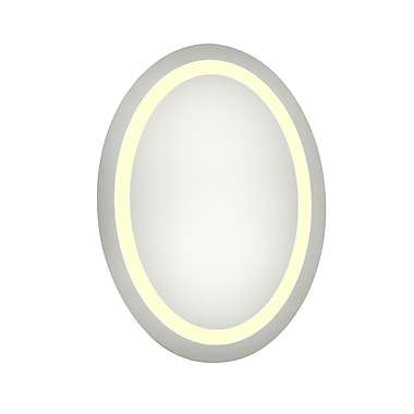 Elegant Lighting Nova LED Electric Oval Mirror