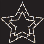 PennDistributing Lighted Star Window Decoration