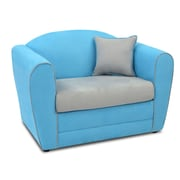 kangaroo trading company Tween Kids Loveseat w/ Accent Pillow