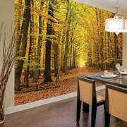 Brewster Home Fashions Autumn Leaves Wall Mural