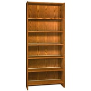 Ironwood Glacier 84'' Standard Bookcase; Dixie Oak