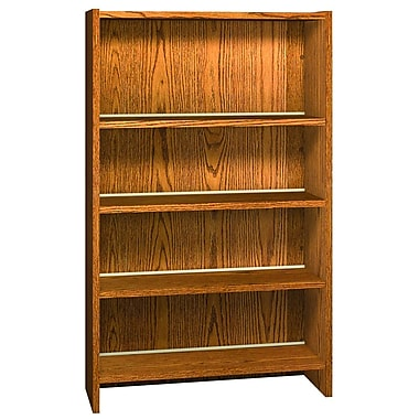 Ironwood Glacier 60'' Standard Bookcase; Oiled Cherry