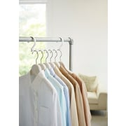 Yamazaki USA Smart Collapsible Space Saver Closet Hanging Organizer; White