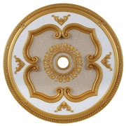 Elegant Lighting Medallion Ceiling Canopy; Gold by