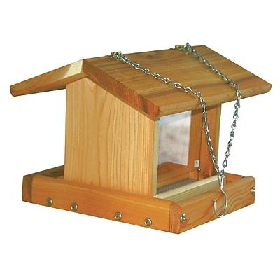 Stovall Hanging Hopper Bird Feeder (WYF078278728812) photo