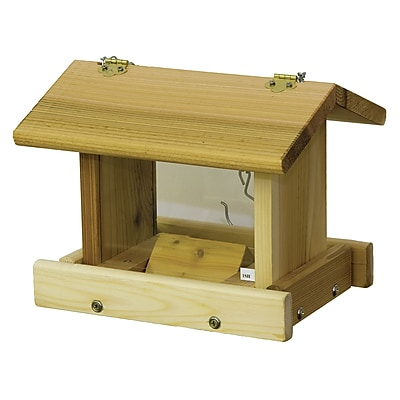 Stovall Hanging Hopper Bird Feeder w/ Chain (WYF078278728814) photo