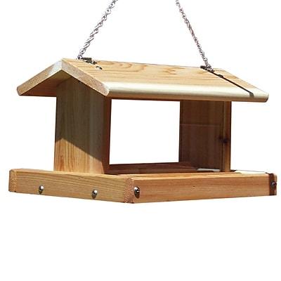 Stovall Standard Hanging Tray Bird Feeder (WYF078278728816) photo