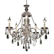 Astoria Grand Schroeppel Traditional 5-Light Crystal Chandelier
