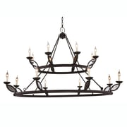 Bungalow Rose Tyson 16-Light Candle-Style Chandelier