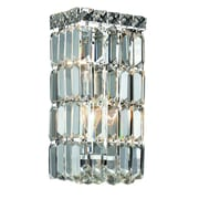 Rosdorf Park Bratton 2-Light 60W Wall Sconce; Elegant Cut