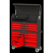 Swivel Storage Solutions Workbench; Red