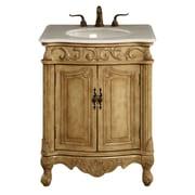 Astoria Grand Ambudkar 27'' Single Vanity Set; Antique Beige
