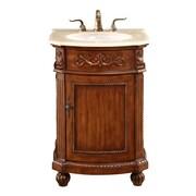 Astoria Grand Ambudkar 24'' Single Bathroom Vanity Set; Brown