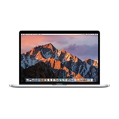 Apple – Portatif MacBook Pro MLW72LL/A de 15 po, Touch Bar & Touch ID, Intel i7 2,6 GHz, SSD 256 Go, RAM 16 Go, argent