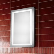 Elegant Lighting Nova LED Electric Rectangle Mirror; 30'' H x 24'' W x 1.6'' D