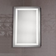 Elegant Lighting Nova LED Electric Rectangle Mirror; 40'' H x 20'' W x 1.6'' D