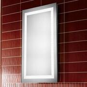 Elegant Lighting Nova LED Electric Rectangle Mirror; 40'' H x 24'' W x 1.6'' D