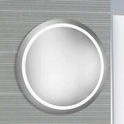 Elegant Lighting Nova LED Electric Round Mirror; 42'' H x 42'' W x 1.6'' D