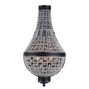 Bungalow Rose Seth 3-Light Empire Chandelier; French Gold