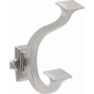 HickoryHardware Bungalow Wall Mounted Hook; Pearl Nickel
