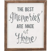 Glory Haus 'The Best Memories' by Glory Haus Framed Textual Art