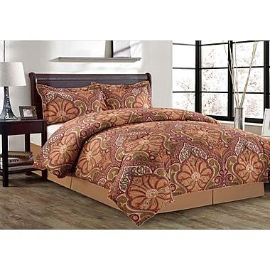 Manhattan Heights Malta 8 Piece Bed in a Bag Set; Queen