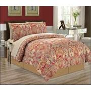 Manhattan Heights Majorca 8 Piece Bed in a Bag Set; Queen
