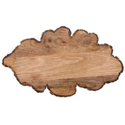 Jodhpuri Oak Leaf Mango Wood Cheese Board