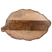 Jodhpuri Elm Leaf Wood Cheese Board